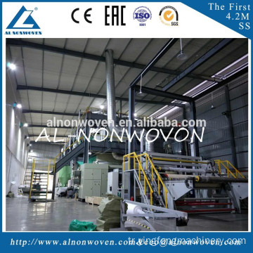 S/SS/SSS/SMS Fully Automatic PP Spunbond Nonwoven Fabric Making Machine